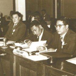 Великобритания, делегаты Тайланда и СССР
