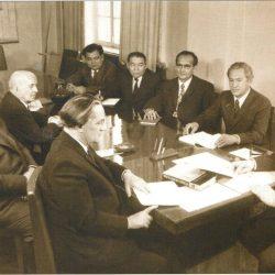 Президиум членов заседания НА КазССР