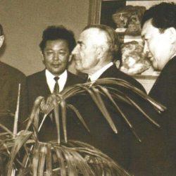 В.П.Елютин в институтском музее