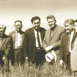Есенов, Кунаев, Аскаров, Мухаммедгалиев
