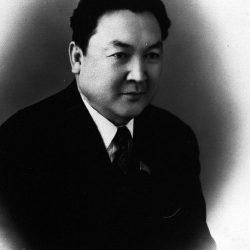 1970г. Алматы. Ш.Есенов - Президент Акадкмии Наук Каз ССР