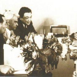 1971 г., Алматы, Конаев, Есенов, Келдыш, Акишев