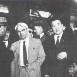 1971 г. С Келдышем в одном из заводов Рудного Алтая