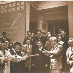 1971 г. Алматы125 летний юбилей Ж.Жабаева