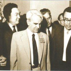 1971г. в Алматы. Конаев, Есенов, Келдыш, Акишев