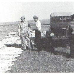 1956 г. На месторождении Сарыоба