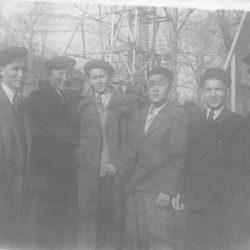 1947г. В кругу однокурсников